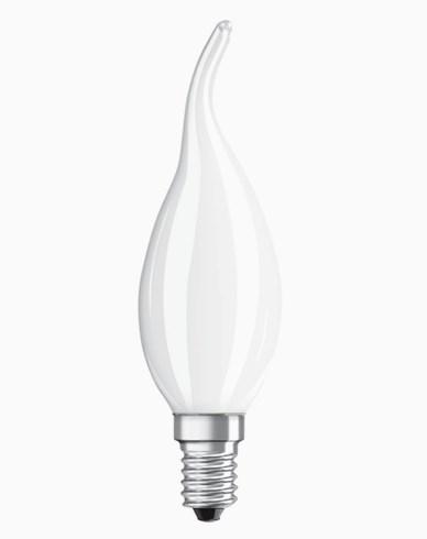 Osram LED-lampa CL BA böjd topp E14 Dim 4,5W/827 (40W) Fr