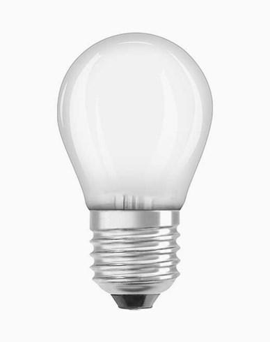 Osram LED-lampa CL P klot E27 Dim 4,5W/827 (40W) Fr