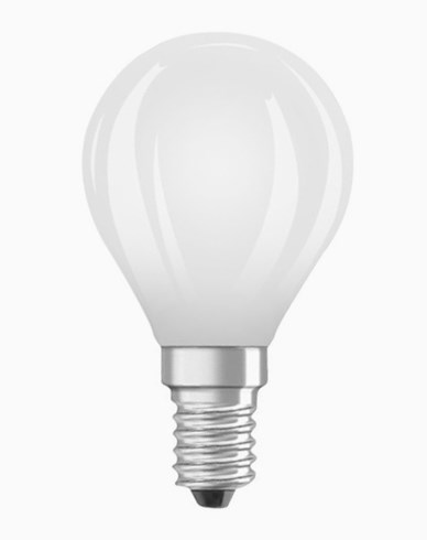 Osram LED kronepære CL P E14 Dim 5W/827 (50W) Fr