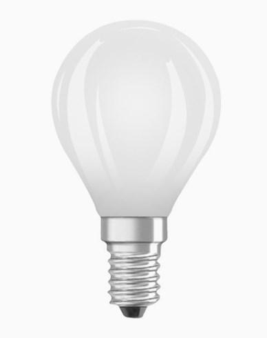 Osram LED-lampa CL P klot E14 Dim 5W/827 (50W) Fr