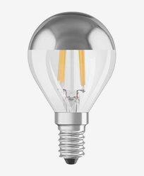 Osram LED-lampa klot Retrofit CL P Toppförspeglad E14 4W (34W)