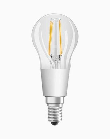 Osram LED klotlampa Classic P E14 GLOWdim 4,5W (40W)