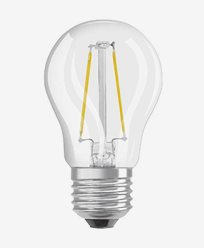 Osram LED klot CL P E27 Dim 4,5W/827 (40W)