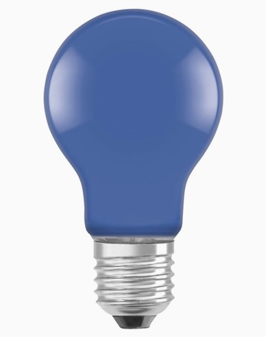 Osram LED-lampa CL A DécorBlue E27 2W (15W)
