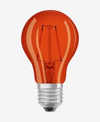Osram LED-lampa CL A DécorOrange E27 2W (15W)