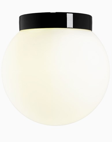 Ifö Electric Classic Glob matt opalglass Ø 300 mm svart