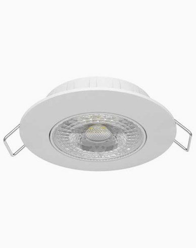 Airam Cosmo LED 5,5W/830 downlight IP20 dimbar Hvit