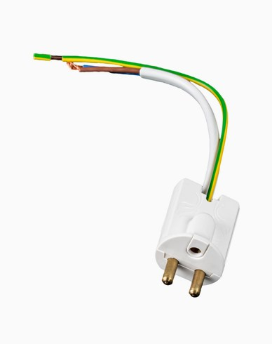 Airam jordet lampe plugg med kabel 14 cm