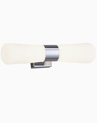 Airam Spa Avello DU LED  vegglampe 2X3,5W/830 IP44, krom