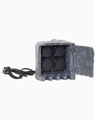 Star Trading Förgreningsbox med 4 pluggar. 418-95