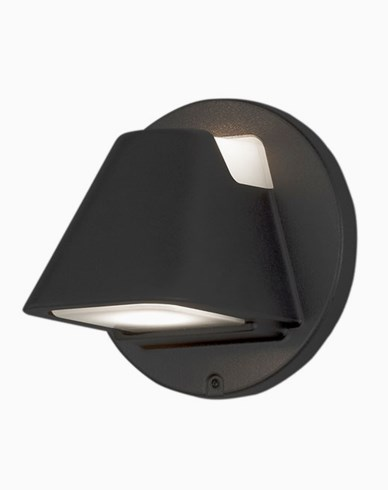 Konstsmide HILD vägglykta LED Svart 427-750