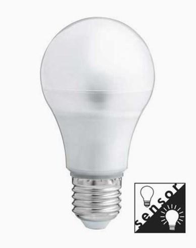 Unison 5W LED Sensor normalformet Opalesent