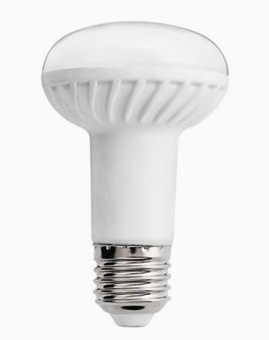 Unison R63 LEDpære 600 lumen 7W, tilsvarende 60W, 120 graders strålevinkel
