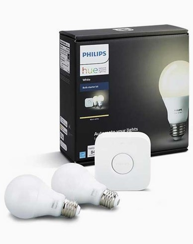 Philips Hue white (2700K) 9.5W A60 E27 set EU
