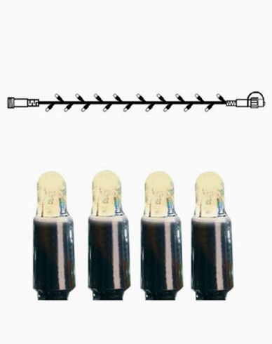 System LED ljusslinga extra 50 ljus 5m varmvit. 465-06