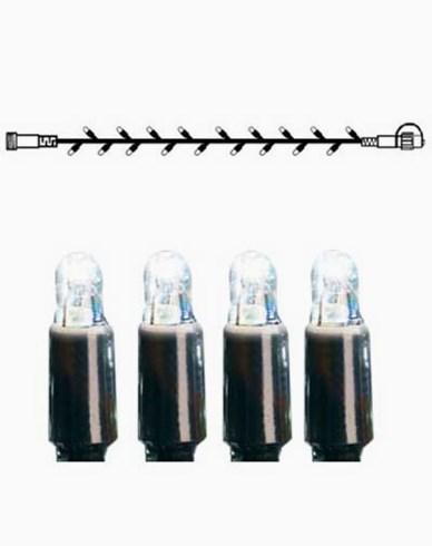 System LED lysslynge ekstra 50 lys 5m kaldhvit