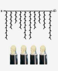 System LED istapp ekstra 100 lys 2x1m varmhvit. 465-36