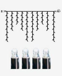 System LED istapp extra 100 ljus 2x1m kallvit