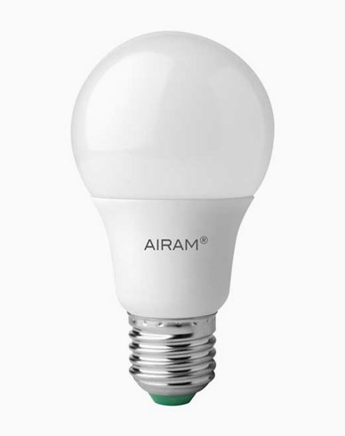Airam LED-pære A60 E27 Opal 9,5W/840 (60W)