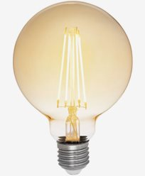 Airam Antique LED Filament Glob Ø95mm E27 2200K 5W Dimbar (35W)