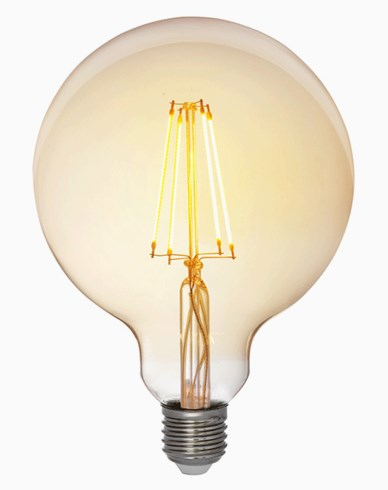 Airam Antique LED Filament Glob Ø125mm E27 2200K 5W Dimbar (35W)