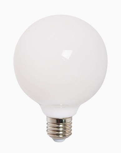 Airam Decor 360 Opal LED-lampa glob Ø120mm E27 9W (≈60W) Dimbar