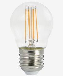 Airam Decor 360 Filament LED Klar Krone pære E27 4W/827 Dimbar