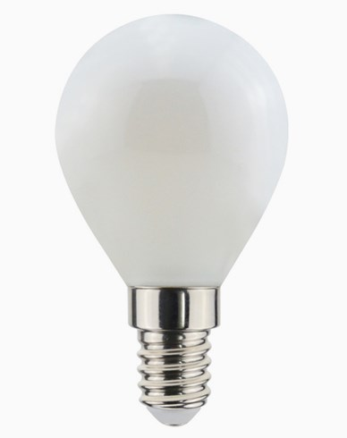 Airam Decor 360 Opal LED-pære krone E14 3W (≈25W)