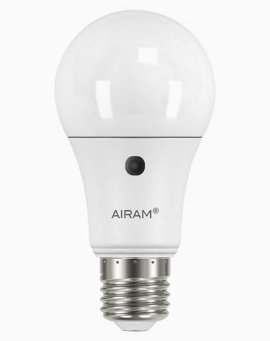 Airam LED-pære opalisert A60 10W/830 E27 SENSOR
