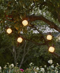 Star Trading Ljusslinga Circus 10 Frostade LEDlampor