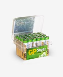 GP Batteries Super Alkaline AAA-batteri, 24-pack