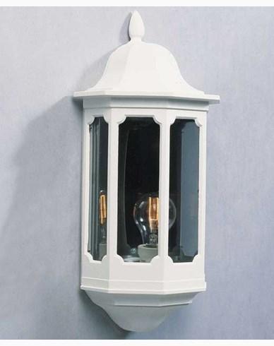 Konstsmide Pallas veggplafond E27 hvit 566-250