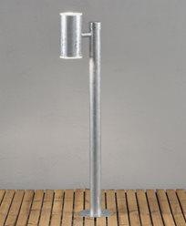 Konstsmide Ull trädgårdslykta  upp/ned 2x8W LED