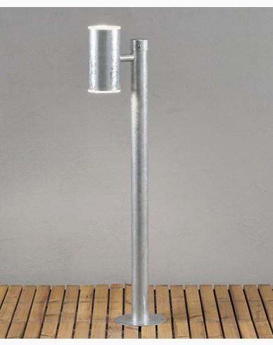 Konstsmide Ull Hagelampe  opp/ned 2x8W LED