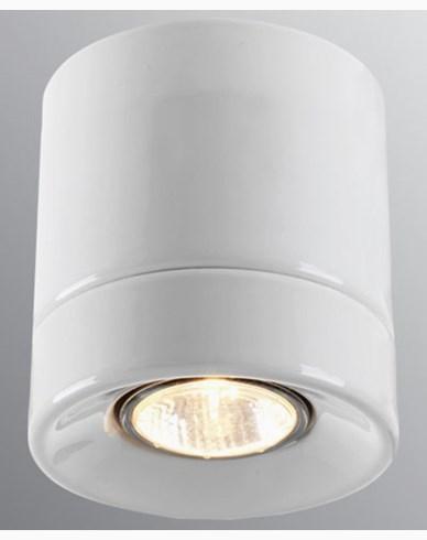 Ifö Electric Light On Downlight Vit IP23 max 50W GU10