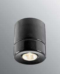 Ifö Electric Light On Downlight Sort IP23 max 50W GU10