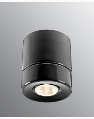 Ifö Electric Light On Downlight Svart IP23 max 50W GU10