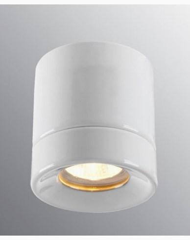 Ifö Electric Light On BADSTUE Downlight Hvit IP44 max 35W GU10