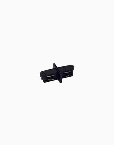Maxel 1-fas skinne MX 1-fas rett tilkobling svart
