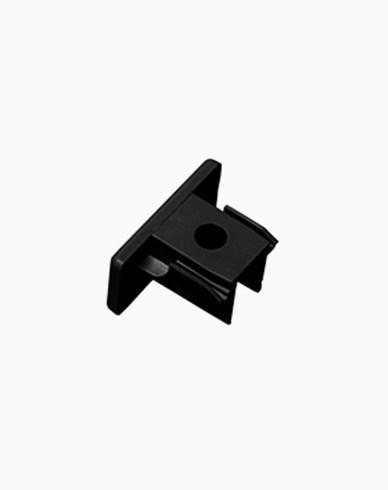 Maxel 1-fas ändstycke svart