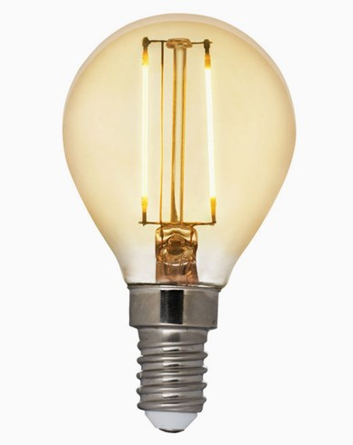 Airam Antique LED Filament Klot E14 2200K 2W (25W)