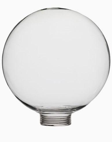 Klar globformat glas Ø100mm. 6534