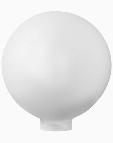 Opal globus-glass Ø125mm. 6501. Passer kun med MAXI-sokkel