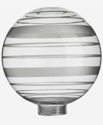 Vitrandigt globus-glass Ø125mm. 6505. Passer kun med MAXI-sokkel