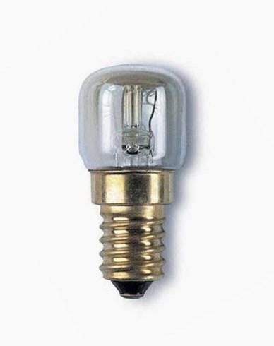 Ugnslampa 15W E14 päron tål 300°