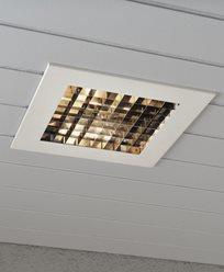 Konstsmide Innfelt belysning 6W LED, dimbar hvit