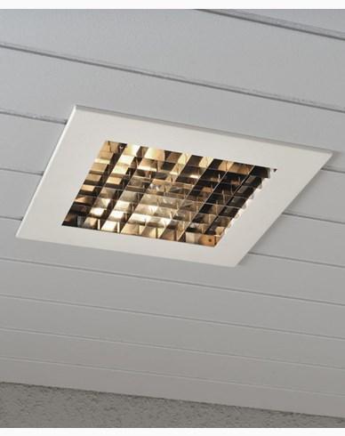 Konstsmide Infälld belysning 6W LED, dimbar vit