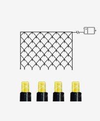 Star Trading DURA Batteridrivet lysnett til inom- og utendør. 80 LED