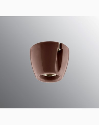 Ifö Electric Basic Rett Brun E27 IP20 maks 100W. 52702-000-14