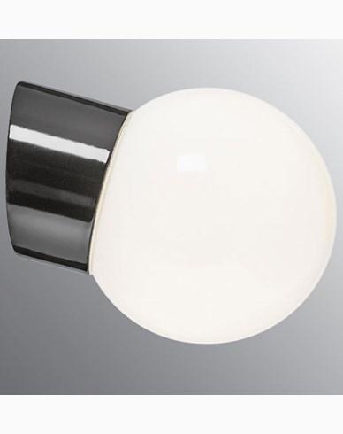 Ifö Electric Classic Globe Ø150 mm LED 6W. Svart. 6044-840-16